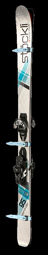 the best ski straps