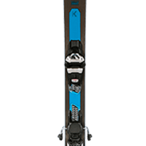 Two Skiezy Performance Ski Straps on Volkl Skis